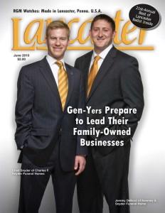 Jeremy DeBord Lancaster Magazine, Lancaster, PA