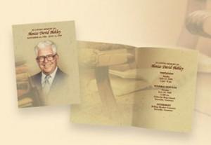 memorial folders, Lancaster, PA