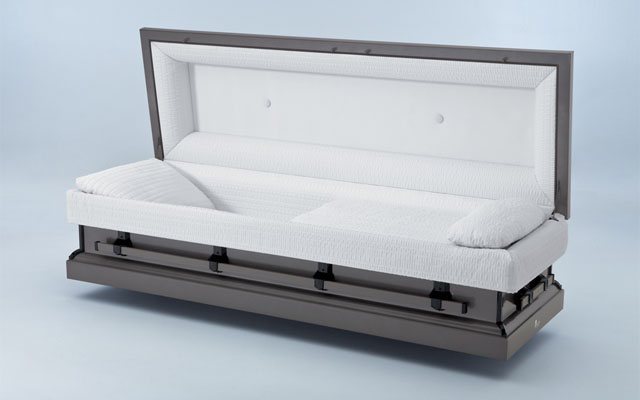 Graytone Metal Casket