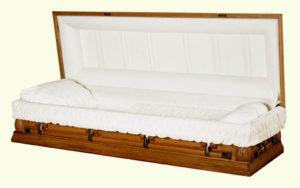 Kemper Oak Wood Casket