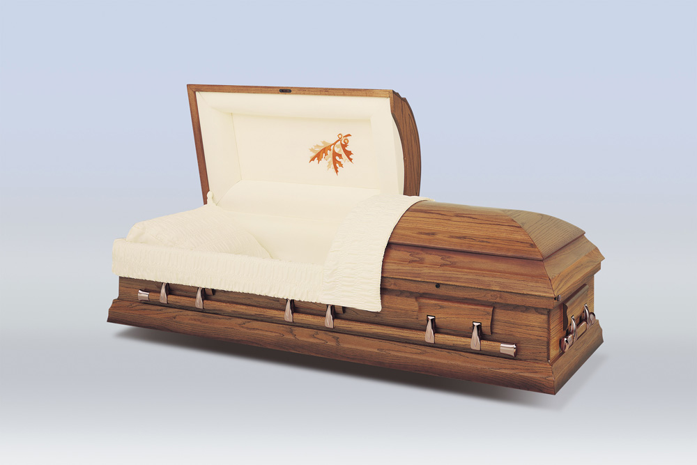 Autumn Oak Casket