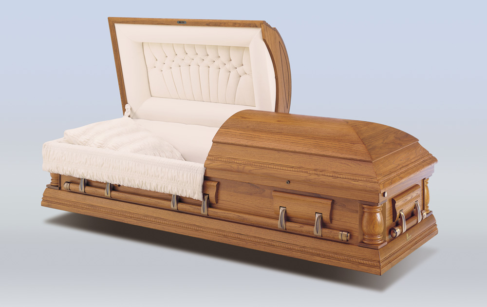 Barkley Oak Casket
