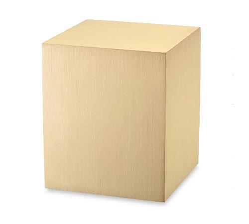 Bronze Cube Urn