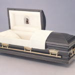 Burnished Silver Casket