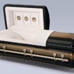Golden Midnight Casket