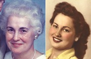 Louise B. Straub Obit Pic - NEW & OLD - WEB