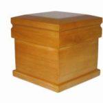 Solid Hardwood Urn